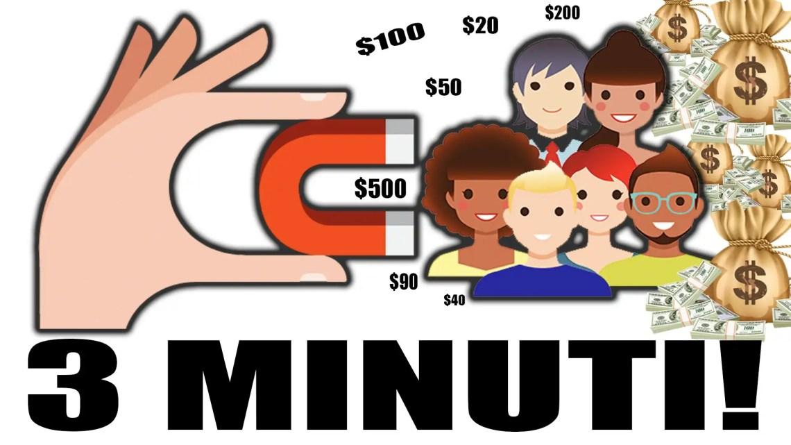 Come Ottenere Affiliati in 3 Minuti Per Il Guadagno Online! * FUNZIONA*