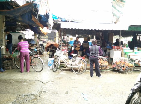 Market started to reopen