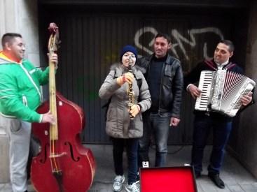 Lovely street musicians