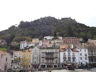 The town buildings