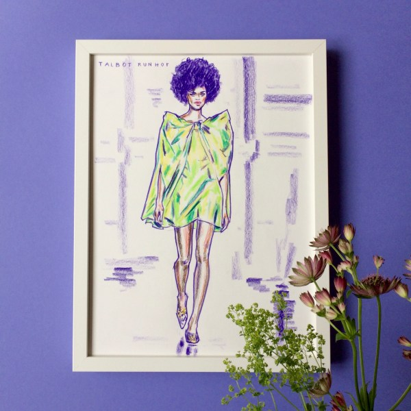 felix scholz illustration fashionillustration talbot runhof