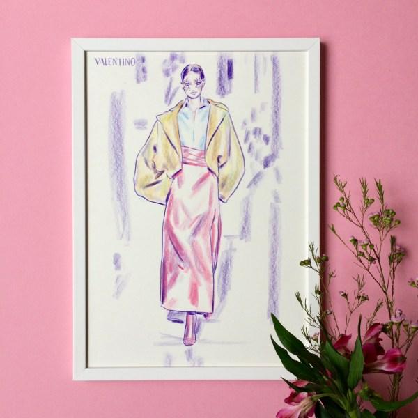 felix scholz illustration fashionillustration valentino