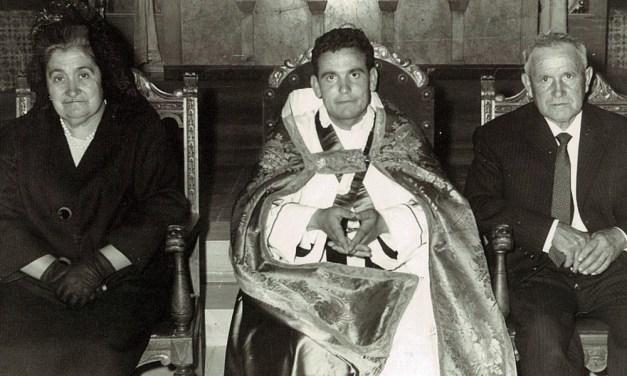 Evocaciones al atardecer (IX): Por fin llegamos: Primera misa solemne en Ribaforada (Navarra) (5 de Julio de 1964)
