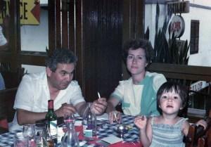 Con Sole Molpeceres,en familia