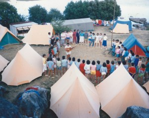 Campamento de Ajo (Cantabria)