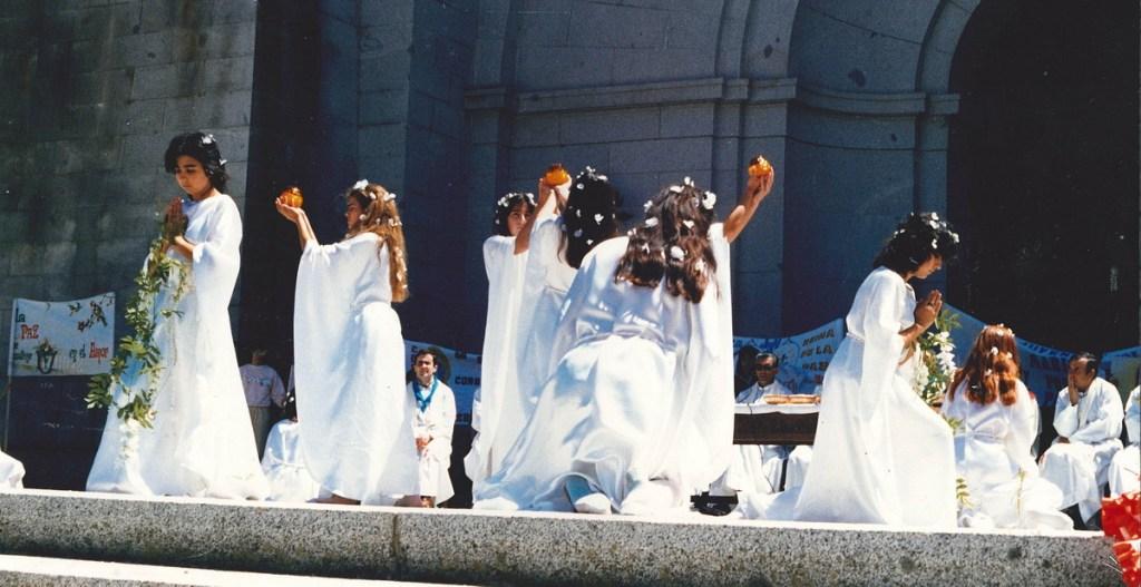 Danza en el Valle de los Caídos