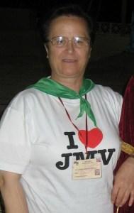 Sor Aurorra Bernardo, una de las grandes impulsoras de JMV.
