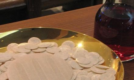 Tríptico para la Eucaristía: 3. Te adoro