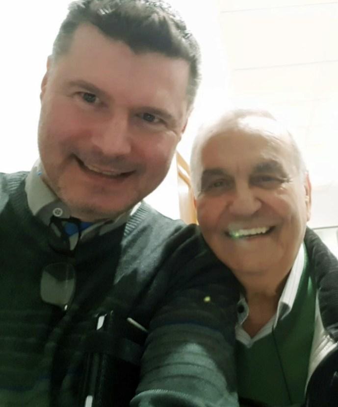 Javier F. Chento y P. Félix Villafranca, marzo de 2019