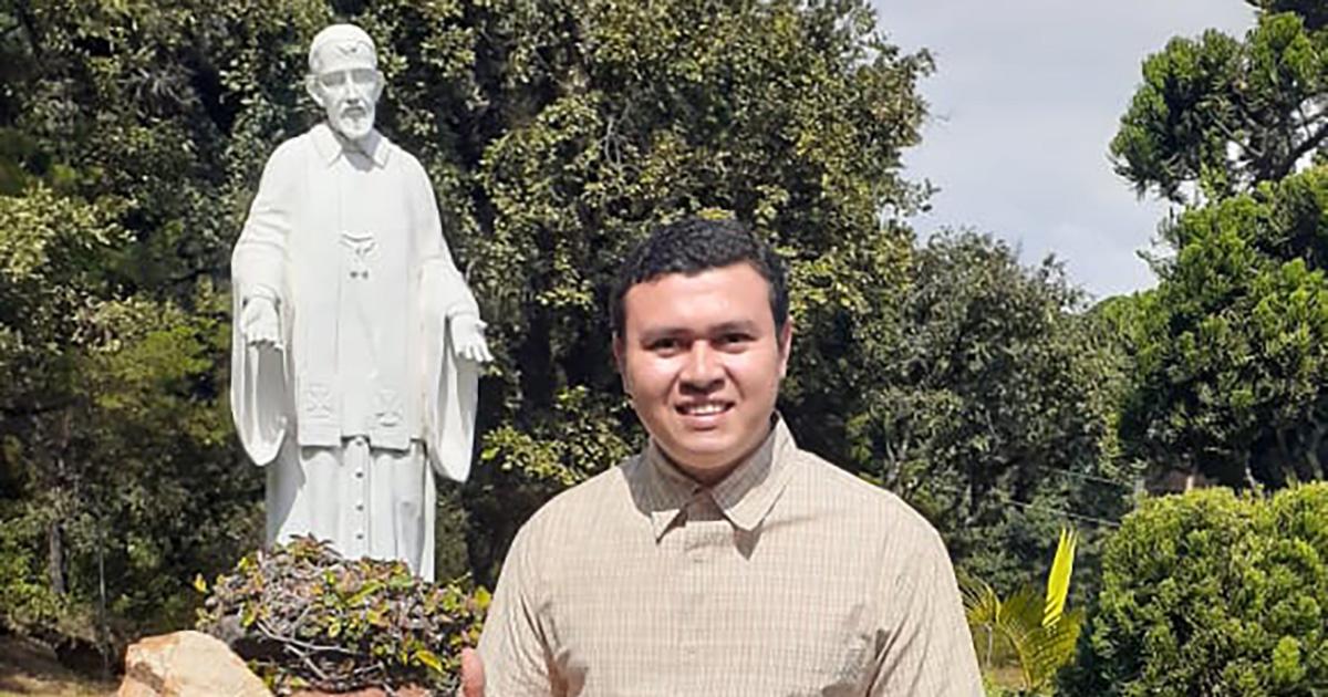 Entrevista a José Pedro López, seminarista paúl