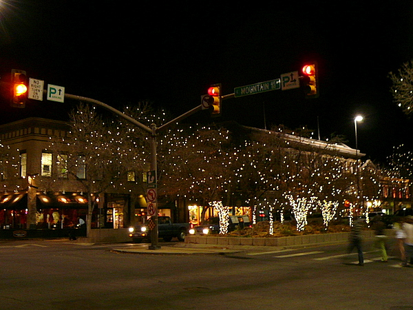 Lights In Old Town