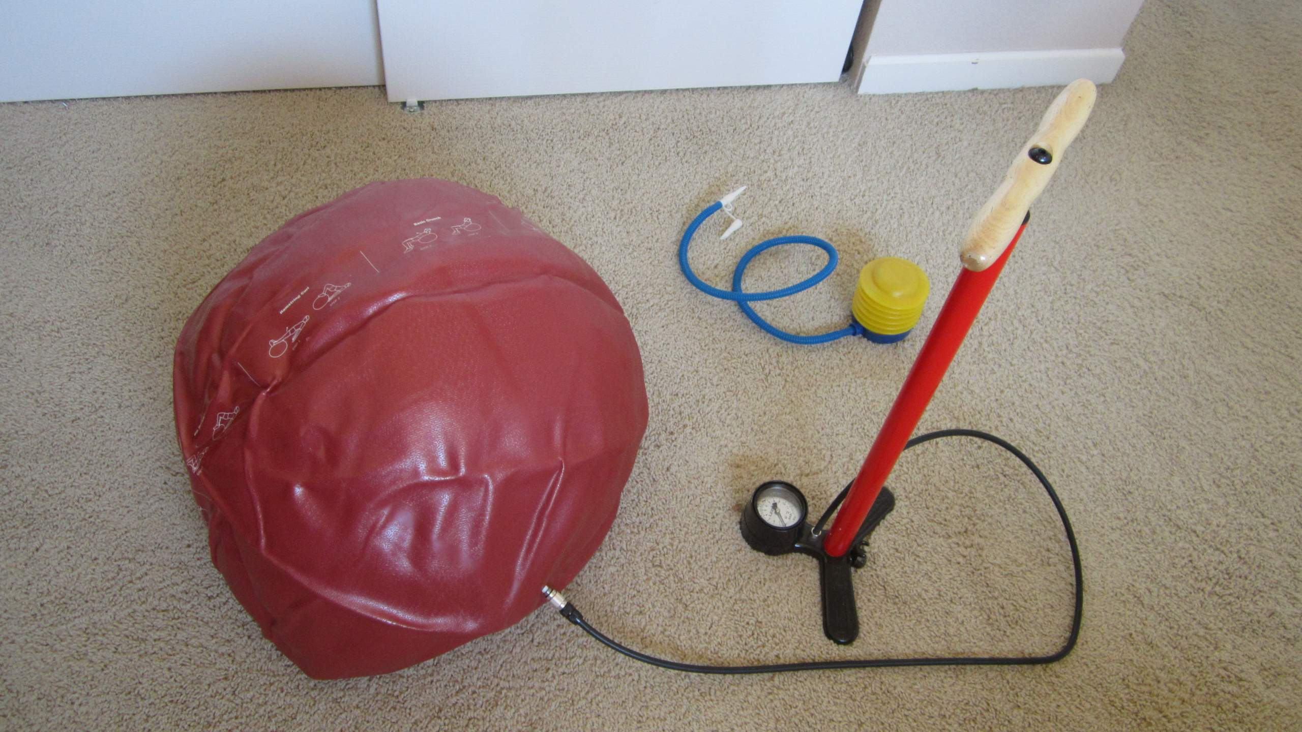 Exercise Ball in Office