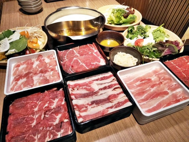 台中吃到飽 涮乃葉大遠百店~日式涮涮鍋吃到飽 野菜選擇豐富 平日午餐吃到飽368元起