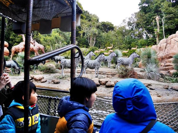 東京迪士尼|探險樂園~叢林巡航:勇闖野生世界~老少咸宜 搭船遊河看野生動物?