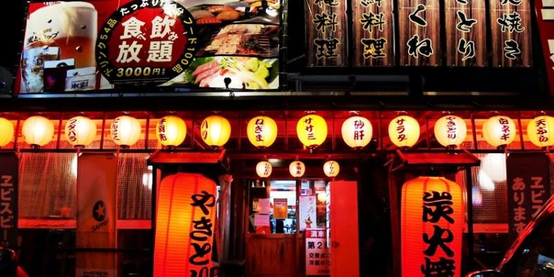 沖繩美食|那霸串角小祿店~超澎湃串燒熱炒吃到飽 中文平板點餐 單軌電車交通方便