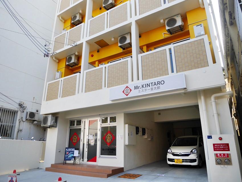沖繩那霸住宿 金太郎旅館Kintaro Hotel Okinawa Naha~新穎舒適超方便的公寓式酒店 有小廚房、洗烘衣機、三人房