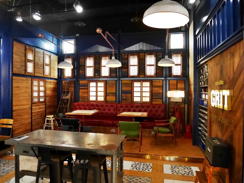 GRIT/ mojocoffee~伴隨書香的美式復古風咖啡館 文心秀泰小書房旁