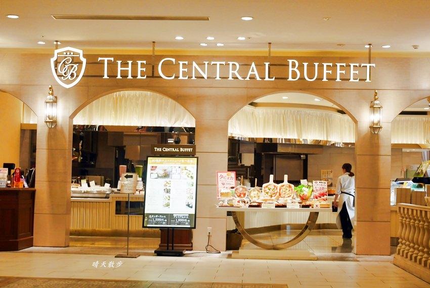 岡山AEON美食 THE CENTRAL BUFFET~岡山AEON Mall六樓吃到飽餐廳 中西式buffet 也有珍珠奶茶耶!