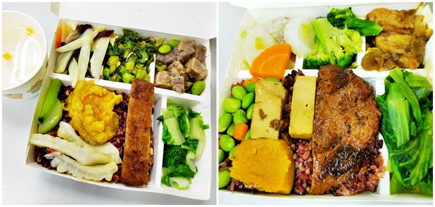 西區便當|中華素食自助餐~公益路平價素食自助餐,菜色豐富,外送便當65元