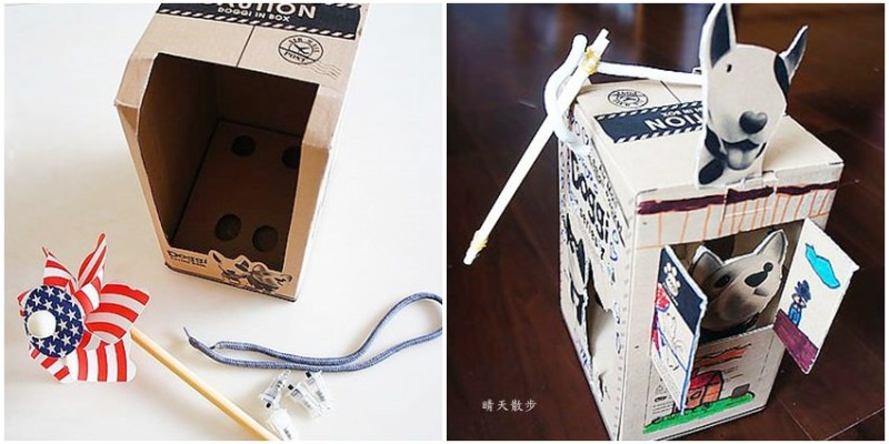 環保手作|舊物改造~鄭寶貝的環保燈籠diy,紙箱改造變燈籠