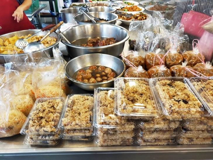 20201025110428 32 - 文心第一黃昏市場|蓁記小菜油飯~超多涼菜、熟食、湯品50元起,大推肉羹湯、豆干絲、豬肝主婦,買回家都不用煮啦!