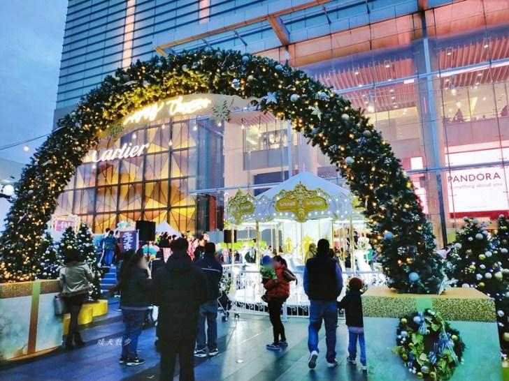 20201224162205 26 - 大遠百北歐夢奇境白金樂園~充滿耶誕氣氛的白色夢幻兒童遊樂園 拍照趁平日