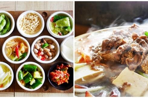 台中吃到飽 韓鄉韓國料理市府店~台中韓式料理老店,超多款免費小菜吃到飽,主餐推薦銅盤烤肉、人蔘雞湯、起司炒泡麵
