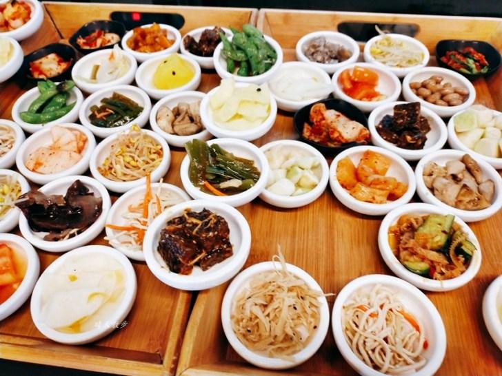 20210107155425 42 - 韓鄉韓國料理市府店~台中韓式料理老店,超多款免費小菜吃到飽,主餐推薦銅盤烤肉、人蔘雞湯、起司炒泡麵
