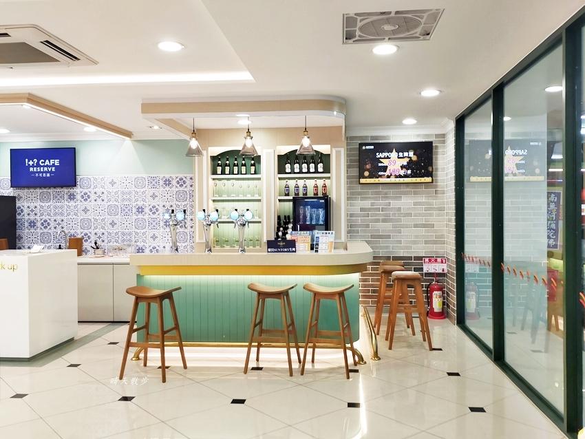 台中特色超商 7-ELEVEN市鑫門市BIG7,小七變大七,彩妝、博客來、精品咖啡通通來!近台中車站