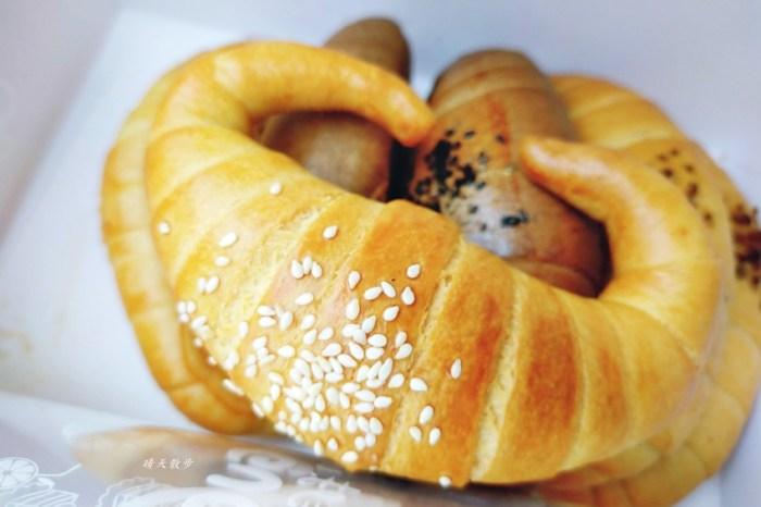 南屯老街|南屯老街金牛角~口味豐富、口感紮實的牛角麵包,近南屯市場、萬和宮