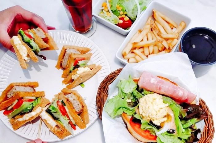 西區早午餐|Naked Cafe美村尼克一號店~台中早午餐老店 全新裝潢大變身