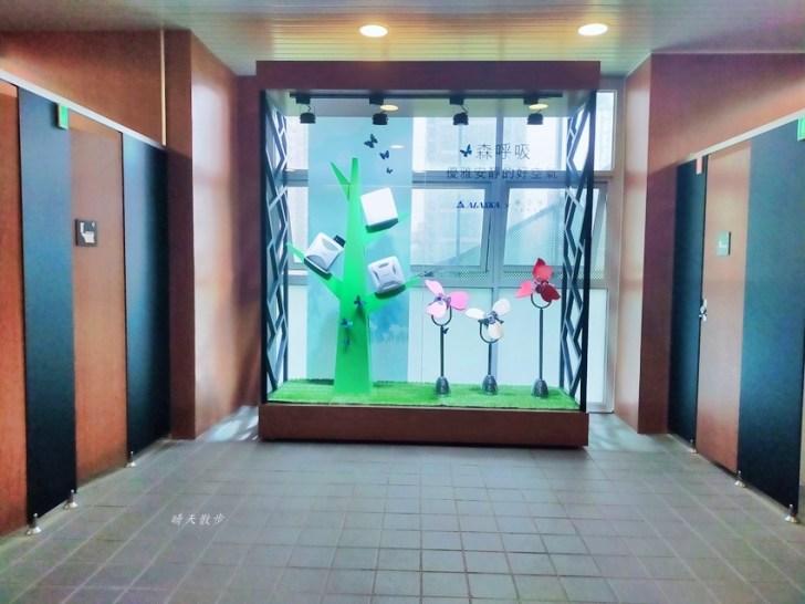 20210414164742 46 - 台中捷運 台中文心森林公園站,漂亮的森林系女廁裡有鋼琴!