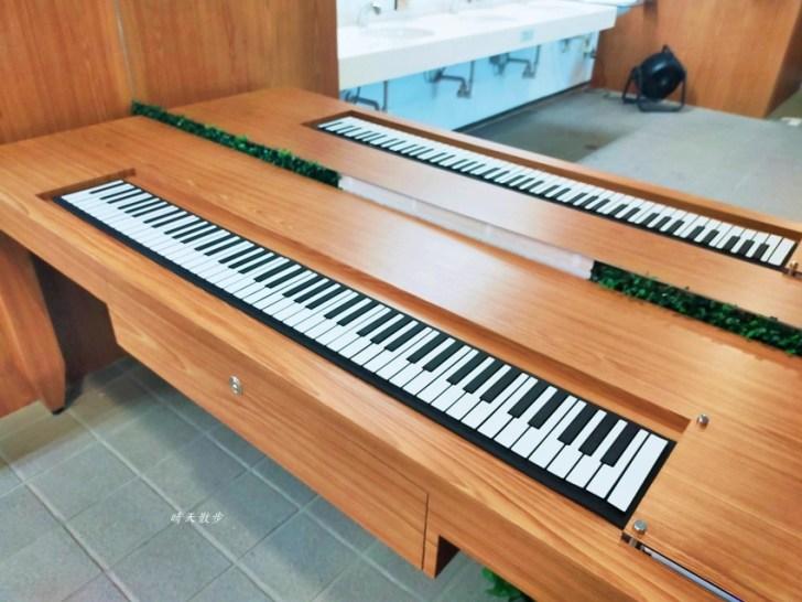 20210414164744 74 - 台中捷運 台中文心森林公園站,漂亮的森林系女廁裡有鋼琴!