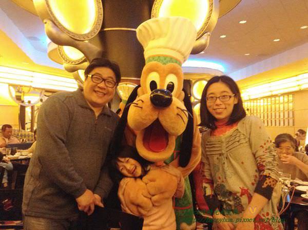 [日本]東京迪士尼大使飯店大廚米奇餐廳(Chef Mickey)享用自助式美食。和米奇、米妮合照。可善用信用卡白金 ...