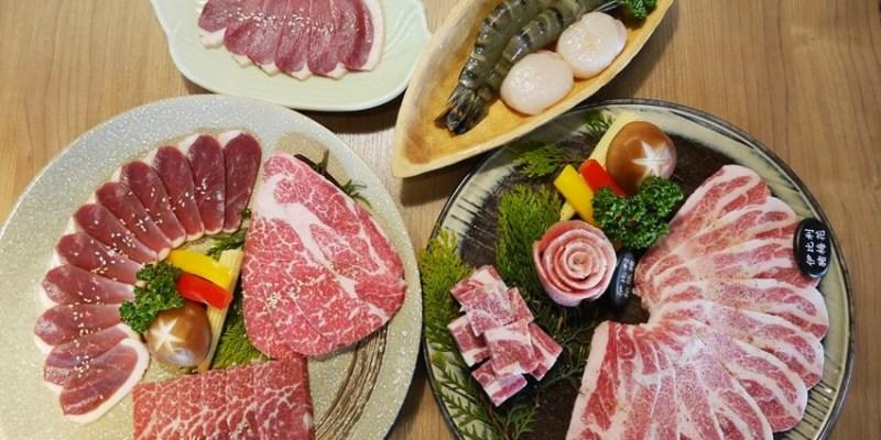 台中燒肉︱雲火日式燒肉~環境與菜單篇
