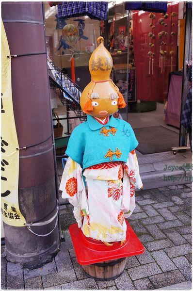 京都景點 過往的百鬼夜行 變身為可愛的妖怪街(北野天滿宮附近)