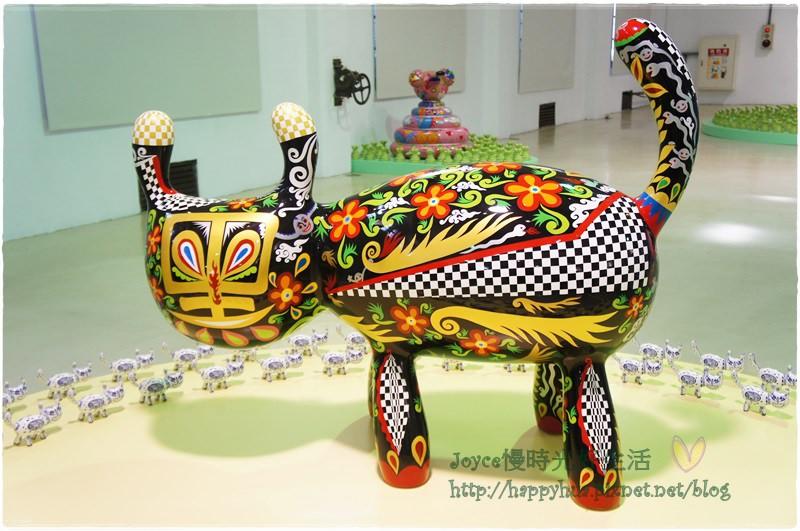 [台中]台中文創園區的快樂動物派對~大人小孩都好愛!(室內篇)