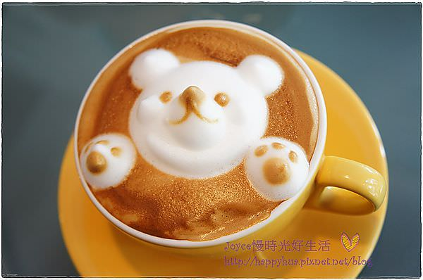 西區早午餐 美術館綠園道52 Café~傳說中的翹鼻子小熊咖啡