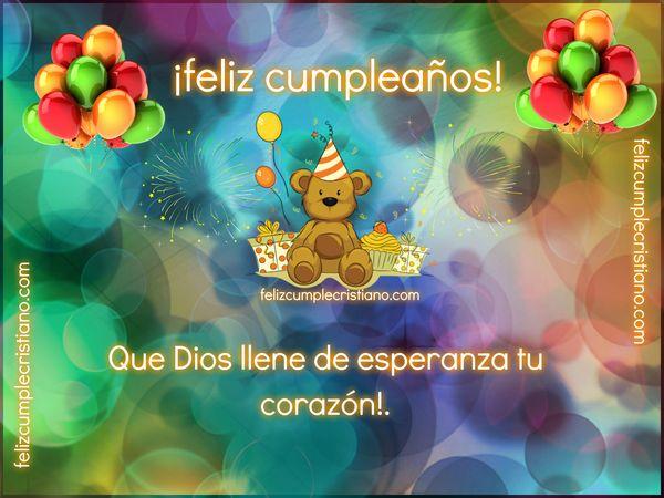 felicitacion cristiana de cumple