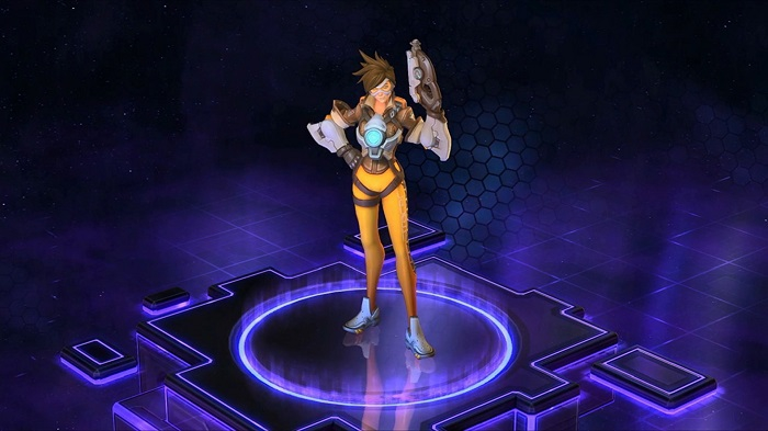 Tracer In Heroes Of The Storm FelkinBlog