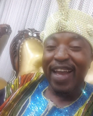 ''Its audio'' Oluwo of Iwo laughs off his suspension from the Osun State Traditional Rulers' Council