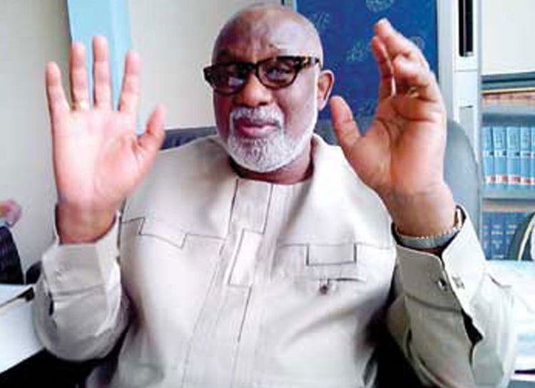Akeredolu to contest another term, says Ondo people asked him to
