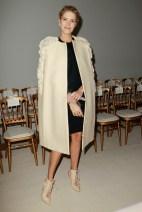 Elena Perminova Giambattista Valli Spring 2014 Couture style.com