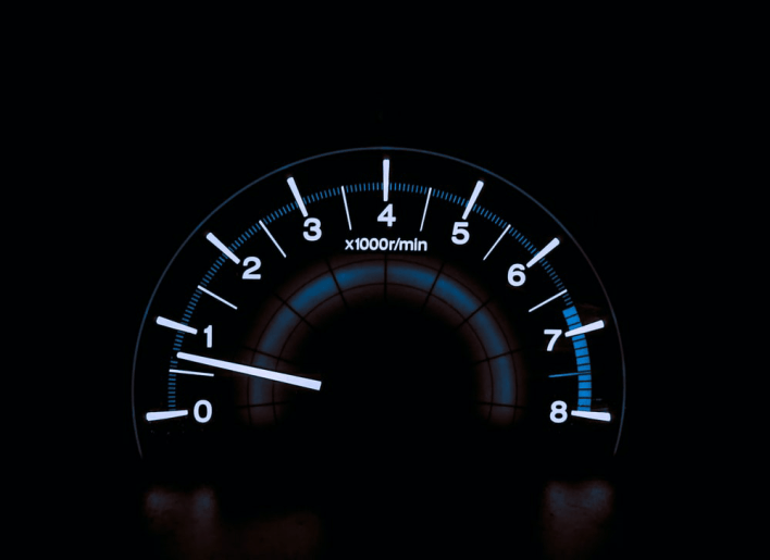 Speedometer reckless driving