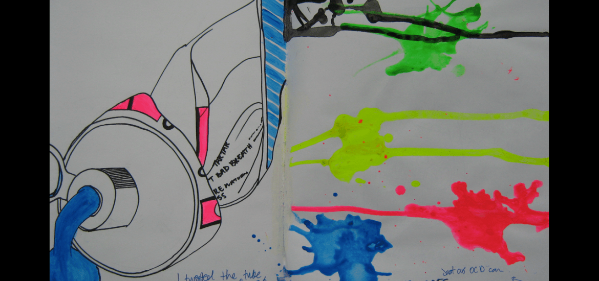 Art sketchbook exemplar