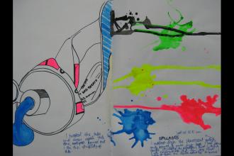 Art sketchbook exemplar