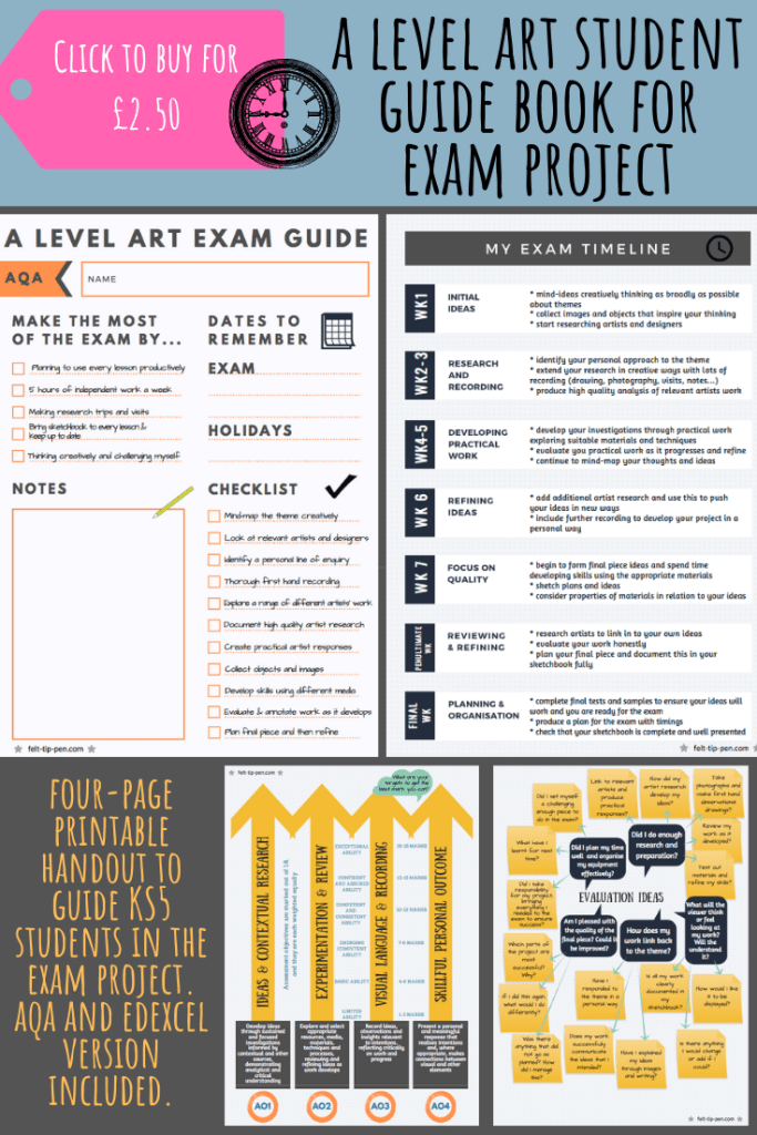 A level art guide for students assessment objectives