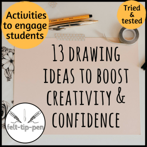 drawing ideas to boost creativity