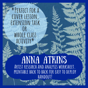 Anna Atkins artist research