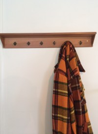 Recycled Cedar and Teak Coat Rack | Felt